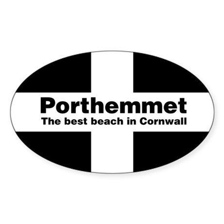 Porthemmet Oval Sticker