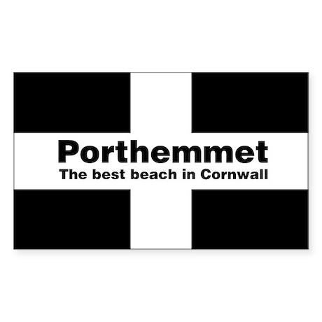 Porthemmet Rectangle Sticker