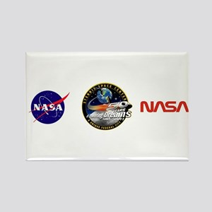 Stennis Space Center Rectangle Magnet Magnets