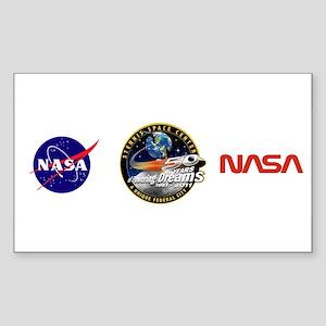 Stennis Space Center Sticker (rectangle 10 Pk)