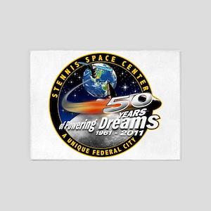 Stennis Space Center 5'x7'area Rug