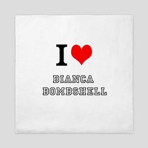 I Heart Bianca Bombshell Queen Duvet