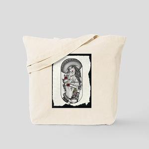 Border Girl Tote Bag