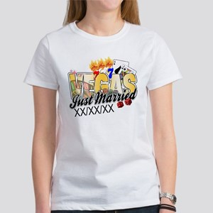 Vegas Just Married Women's T-Shirt
