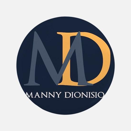 """Elegant Custom Monogram 3.5"""" Button (100 pack)"""