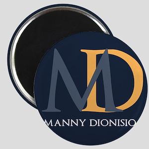 Elegant Custom Monogram Magnet