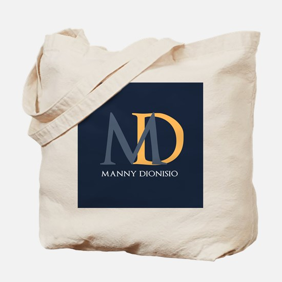Elegant Custom Monogram Tote Bag