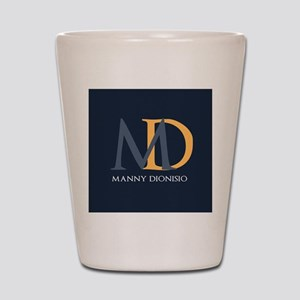 Elegant Custom Monogram Shot Glass