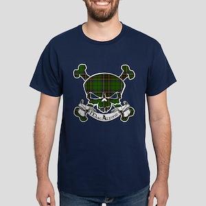 MacAlpine Tartan Skull Dark T-Shirt