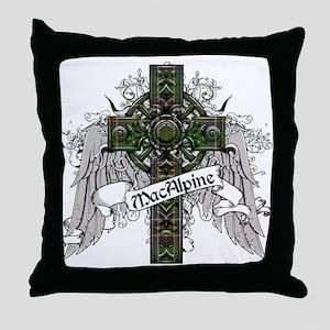 MacAlpine Tartan Cross Throw Pillow