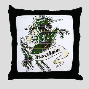 MacAlpine Unicorn Throw Pillow