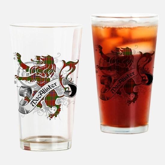 MacAlister Tartan Lion Drinking Glass