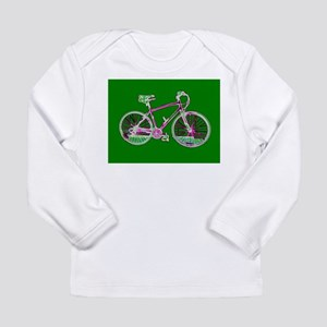 Ditch the Car Ride A Bicycle Green Designer Long S