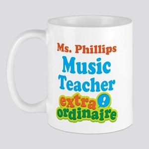 Music Teacher Extraordinaire Mugs