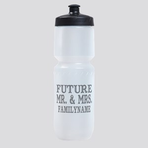 Future Mr. and Mrs. Personalized Sports Bottle