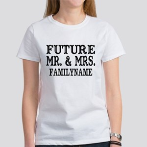 Future Mr. and Mrs. Personalized Women's T-Shirt