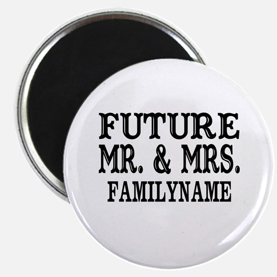"""Future Mr. and Mrs. Persona 2.25"""" Magnet (10 pack)"""