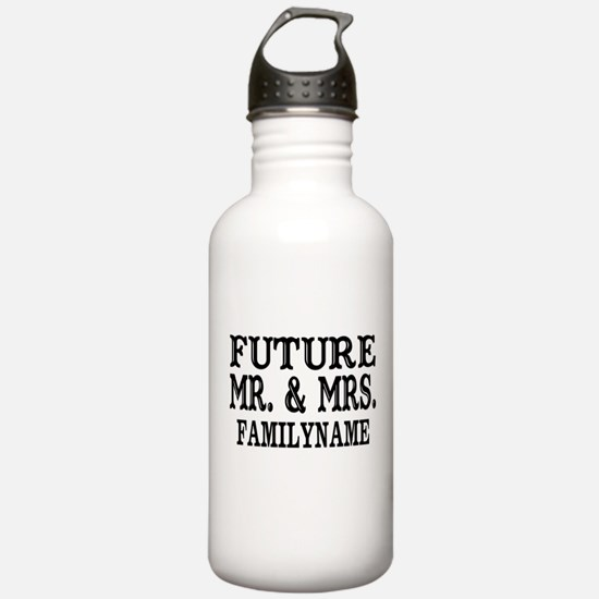 Future Mr. and Mrs. Pe Water Bottle