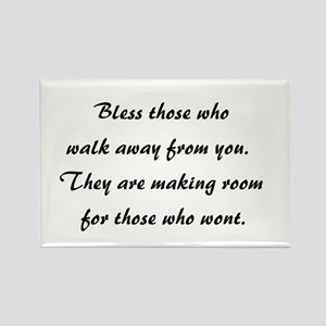 BLESS THOSE WHO... Rectangle Magnet