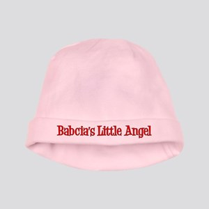 Babcia's Little Angel Baby Hat