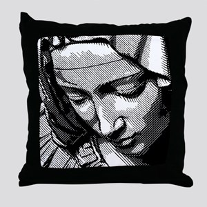 PIETA-VIRGIN MARY Throw Pillow