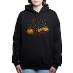 Autumn Flat Coated Retri Women's Hooded Sweatshirt