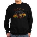 Autumn Flat Coated Retriever Pup Sweatshirt (dark)
