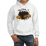 Autumn Flat Coated Retriever Pup Hooded Sweatshirt