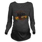 Autumn Flat Coated R Long Sleeve Maternity T-Shirt