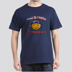 Made in America with Venezuel Dark T-Shirt