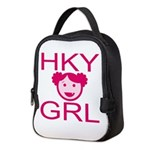 Hky Grl Neoprene Lunch Bag