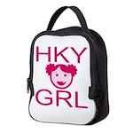 Hky Grl Neoprene Lunch Bag