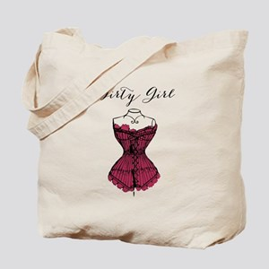 Dirty Girl Tote Bag