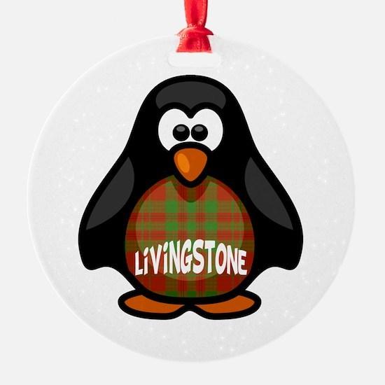 Livingstone Tartan Penguin Ornament