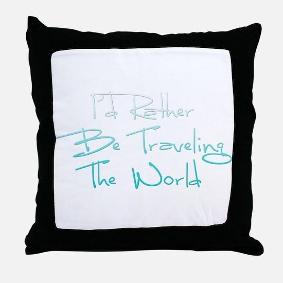 Cute Travel Throw Pillow