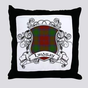 Lindsay Tartan Shield Throw Pillow