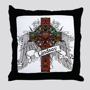 Lindsay Tartan Cross Throw Pillow