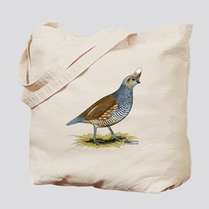 Texas Scaled Quail Tote Bag