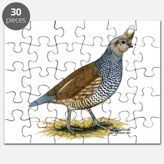 Texas Scaled Quail Puzzle