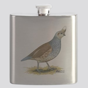 Texas Scaled Quail Flask