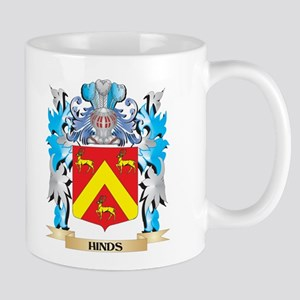 Hinds Coat of Arms - Family Crest Mugs