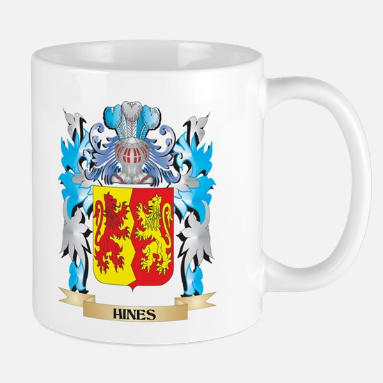 Hines Coat of Arms - Family Crest Mugs
