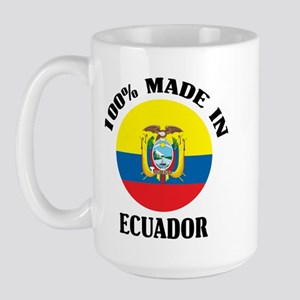 100% Ecuador Large Mug