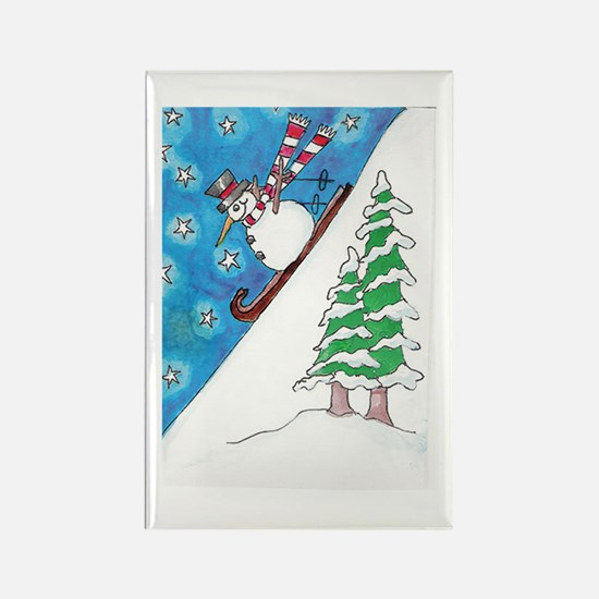 From Original ATC Downhill Snowman Magnets