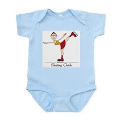 Skating Chick Infant Bodysuit