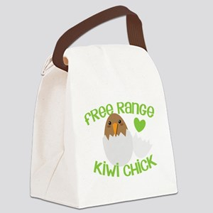Free range KIWI Chick Canvas Lunch Bag