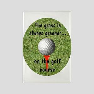 Golf lover Rectangle Magnet