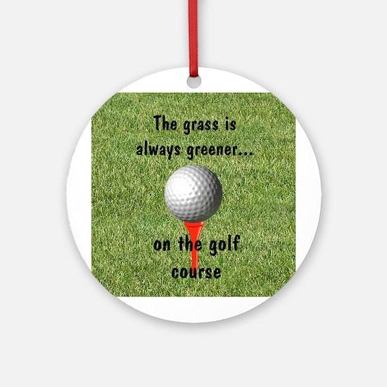 Golf lover Ornament (Round)