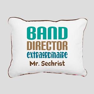 Band Director Extraodinaire Rectangular Canvas Pil
