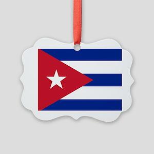 Flag of Cuba Ornament